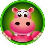 Happy Hippo Herbals Logo
