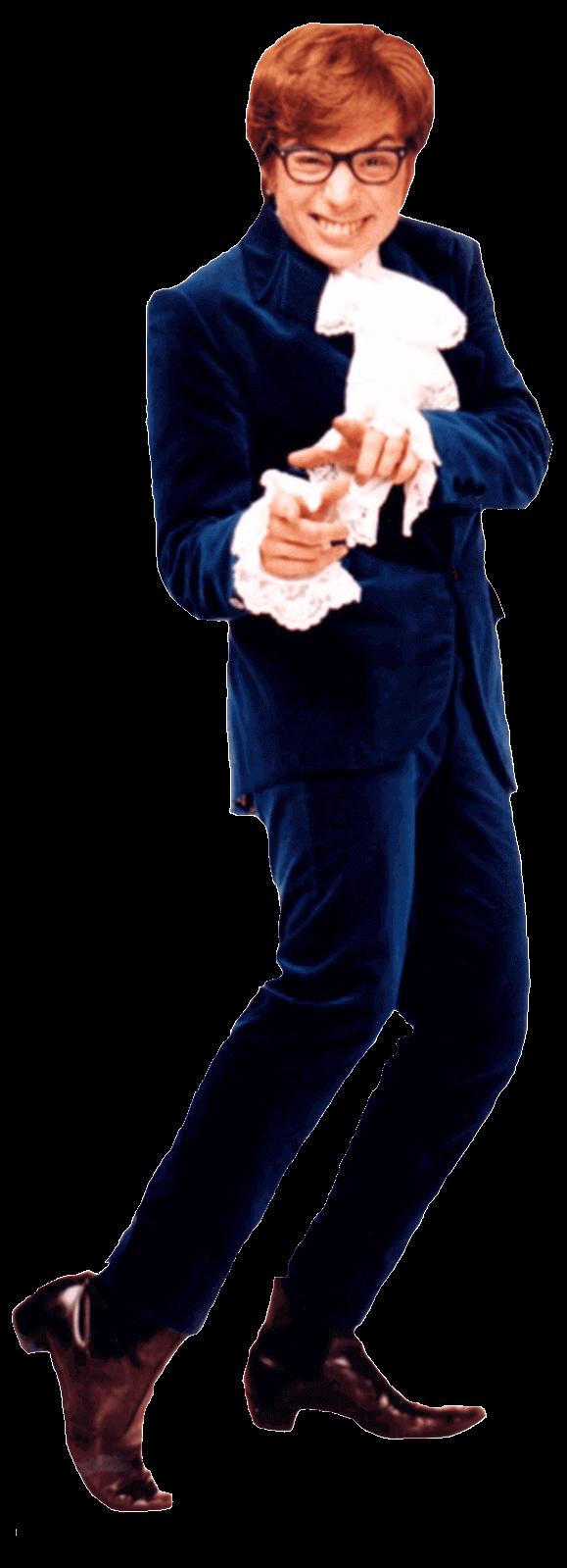 Austin Powers has his mojo